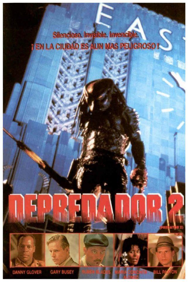 Depradator 2 1990 Tt0100403 Carteleras De Cine Depredador Peliculas