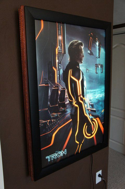 PIN 19: Light-boxes to display movie one-sheets of the ...