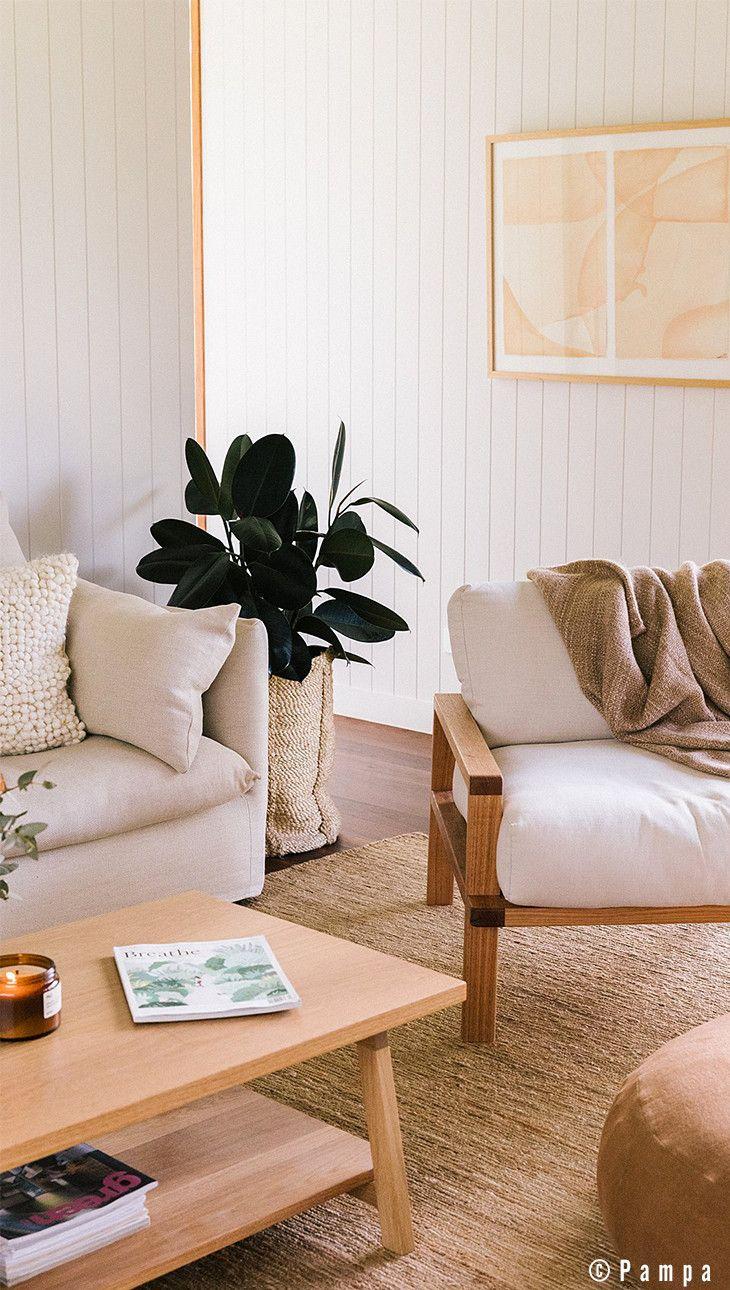 Les meilleures associations canapé et fauteuil pour un salon au ...