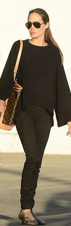 Purse – Louis Vuitton    Shoes – Lanvin