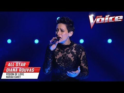 Blind Audition Diana Rouvas Vision Of Love The Voice