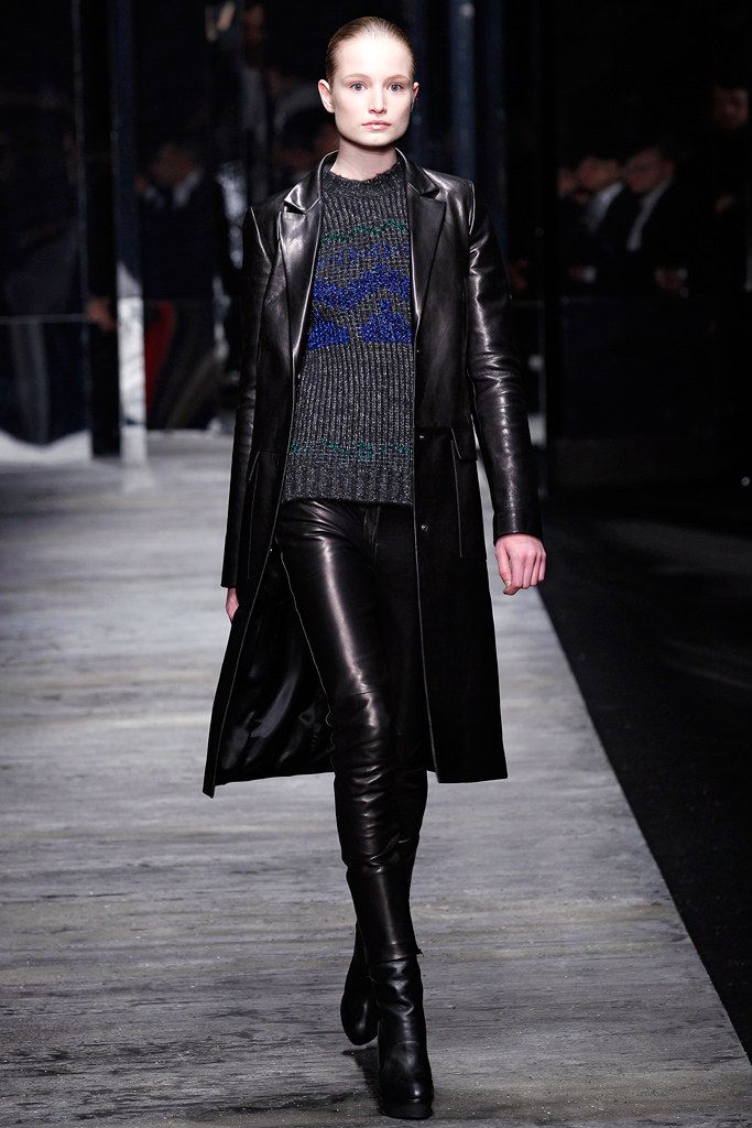 leather jackets for men Versus Versace Fall 2011 Ready to Wear Collection Photos   Vogue