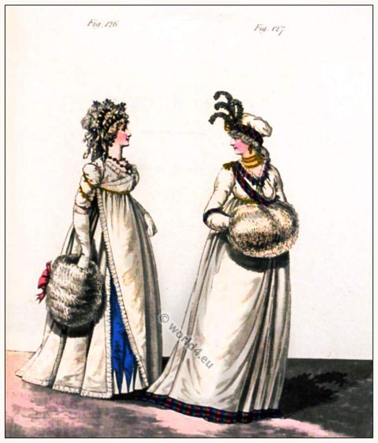 Abiti da pomeriggio. Gennaio 1797.