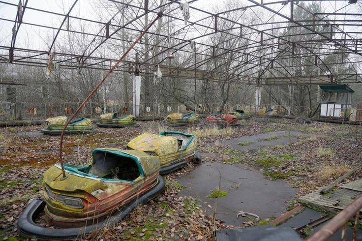 Gruselig: So sieht die Tschernobyl-Geisterstadt Prypjat heute aus | Welt