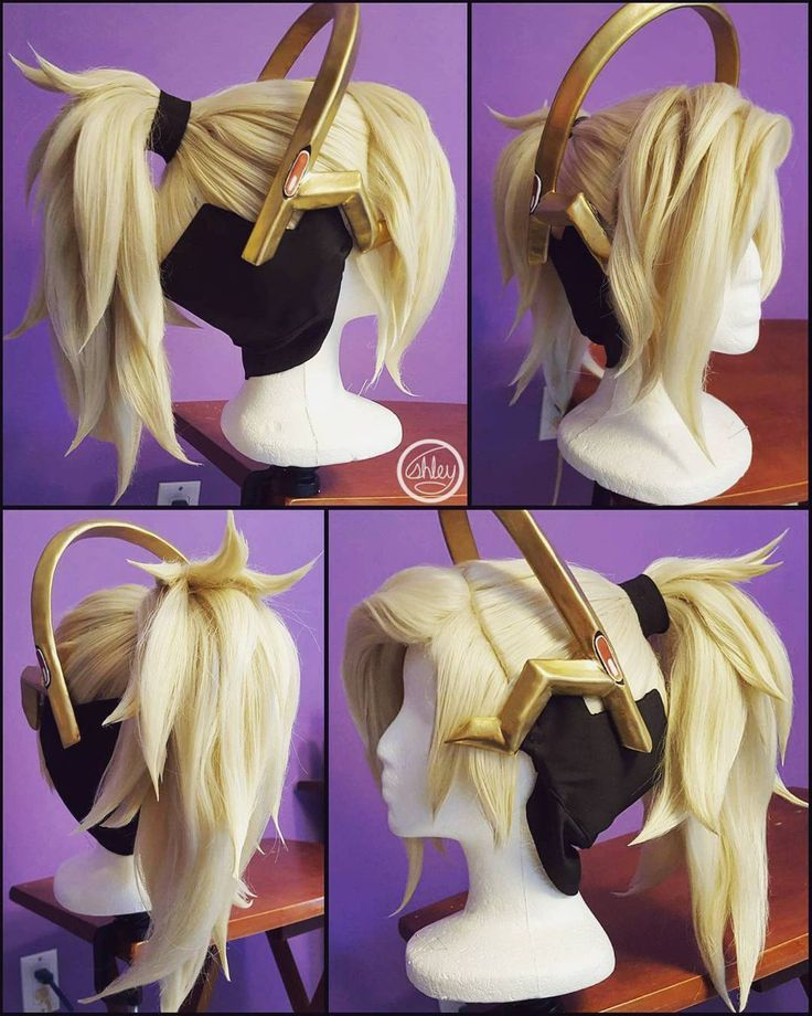 Mercy's hair, wig. Overwatch
