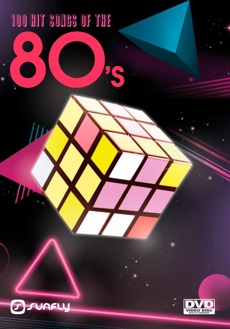 Everyone loves the 80's and here are 100 top songs from Sunfly Karaoke on DVD