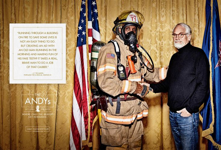 Watch A Bomb Expert, Neurosurgeon, And Firefighter Pay Tribute To The Brave People Of Advertising