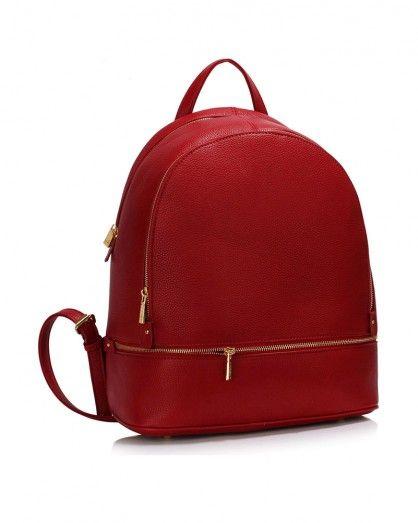 Piros hátizsák Katty