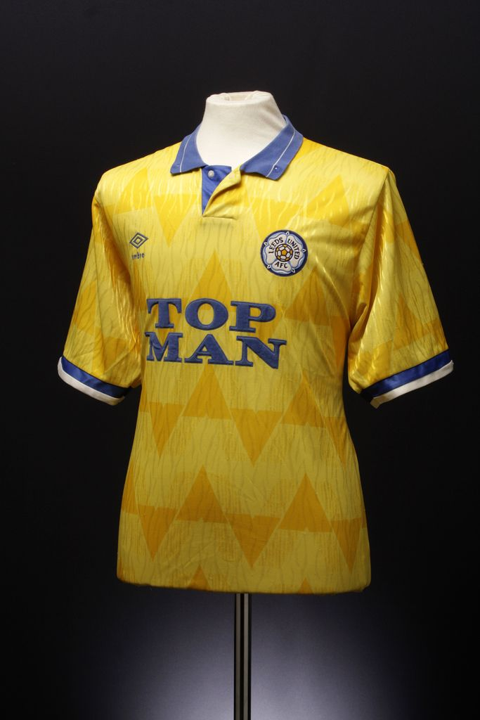 This Umbro football shirt is from Umbro's archive. We've been slowly trying to collect and catalogue all our old kits (see our blog post for more details). If you know anything more about this shirt (such which season it's from) please help us out by adding comments and tags.