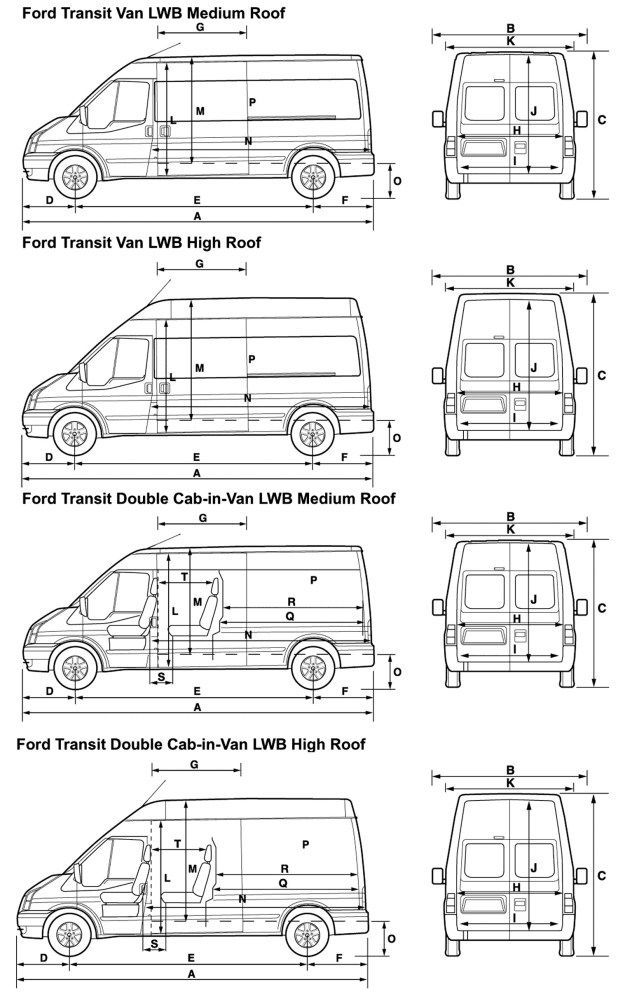 Ford Transit Connect Lwb High Roof In 2020 Ford Transit Ford