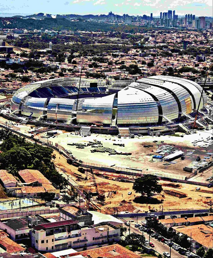 Estadio Das Dunas - Natal - Brazil - I would like to tour this stadium next time I am in Natal.