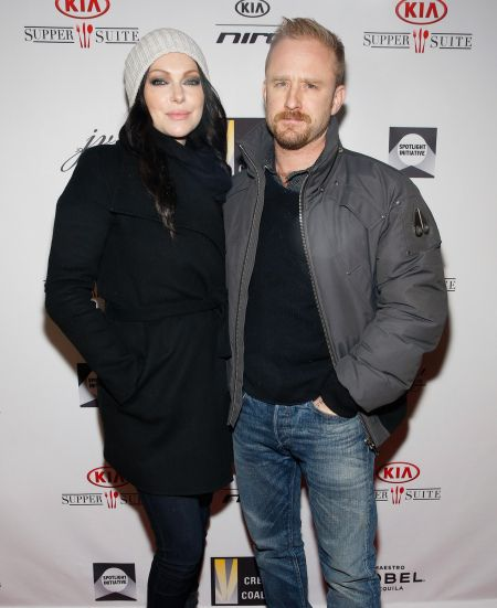 Laura Prepon and her fiancé,  Ben Foster, are expecting their first child