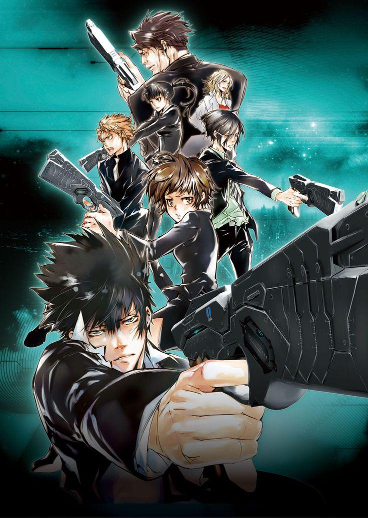 Psycho-Pass Anime Staffel 1 Ger-Dub