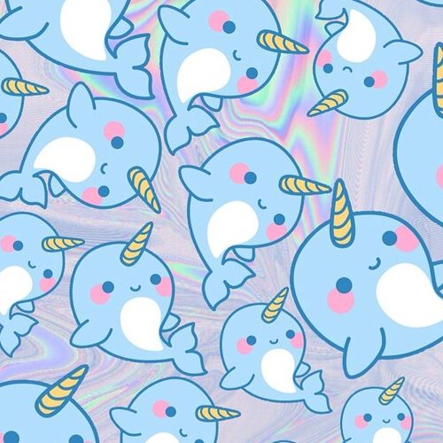 blue-holographic-kawaii-kawaii-wallpaper-Favim.com-3133221.jpg (500×500)