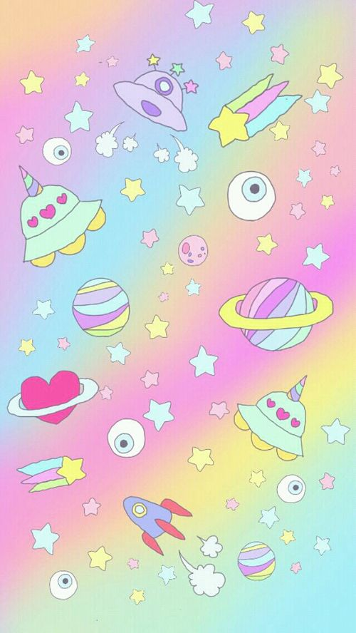 17 best images about pastel kawaii goth punk on - Kawaii anime iphone wallpaper ...