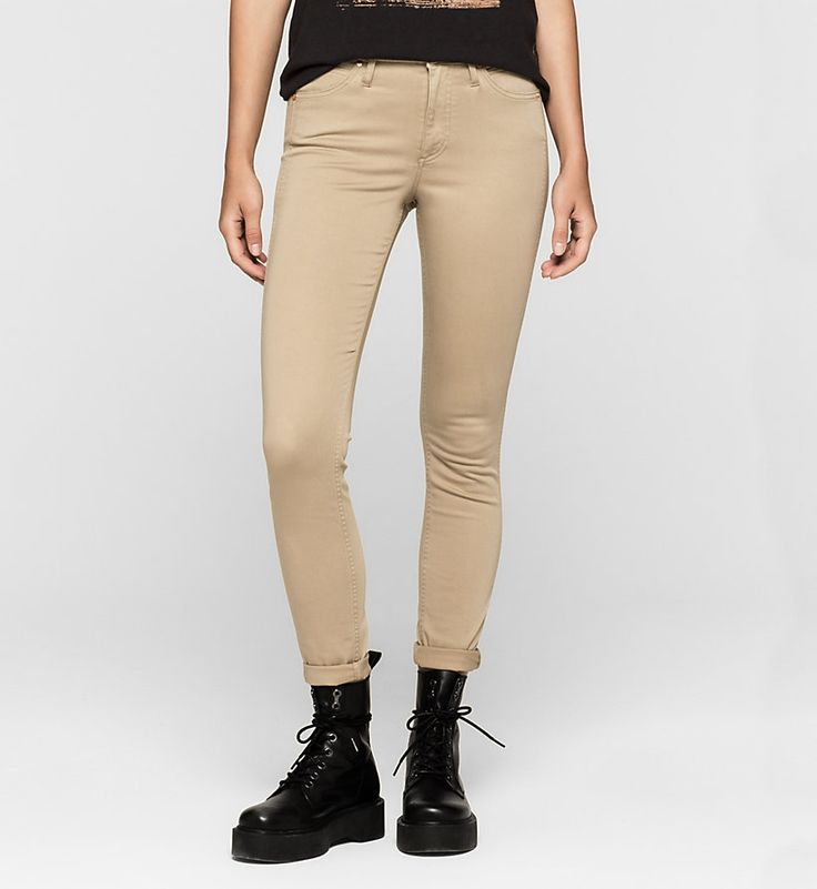 Image for Pantalones sculpted skinny de tiro alto from CalvinKleinES