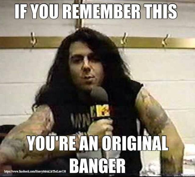 Riki Rachtman. I was not around to  remember it but I love this show
