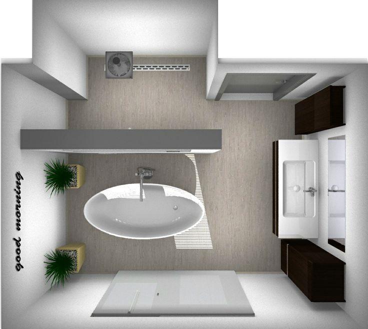 De 61 bästa 3D badkamer ontwerpen-bilderna på Pinterest