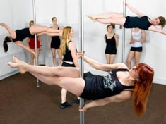 Pack those #hotpants and get ready for the sexiest exercise around! #Pole #dancing dance classes are so much fun, and always get the girls giggling. http://www.lastnightoffreedom.co.uk/hen-weekends/ #poledancing