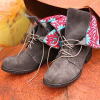 Virginia Lace Up Boots! Love the colors! http://gypsyville.com/products/sweet-virginia-lace-up-boots