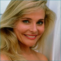 """Priscilla Barnes was born in 1955.  Being an Air Force brat, she was born in Fort Dix, New Jersey.  Her most famous role was Terri on the 80's TV show """"Three's Company"""" co-starring John Ritter and Joyce DeWitt.  The show began in 1976, but Suzanne Somers filled the spot on the show by playing Chrissy Snow.  When Somers left, Barnes took her place as new roommate Terri Alden...  Read more>>"""