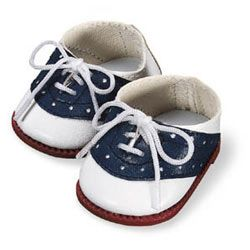 Molly's Navy Saddle Shoes: coordinate with camp outfit (RETIRED)