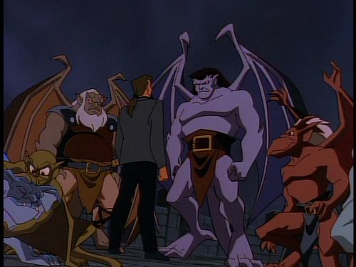 17 Best Images About Disney's Gargoyles On Pinterest