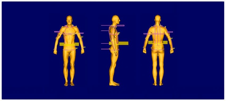 Tailor Made London use 3D Body Scanning technology to take thousands of measurements in seconds. Helping them create perfectly fitting bespoke suits.