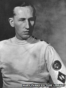 Nazi SS Commandant Reinhard Heydrich, killed in Prague 1942. His death angered Hitler so much, that two villages were erased from existence.