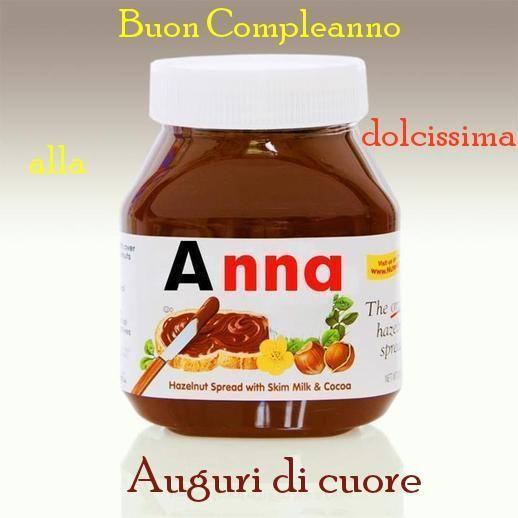 Nutella per Anna