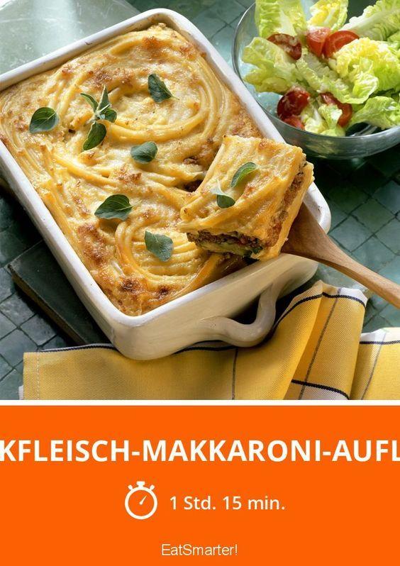 Hackfleisch-Makkaroni-Auflauf