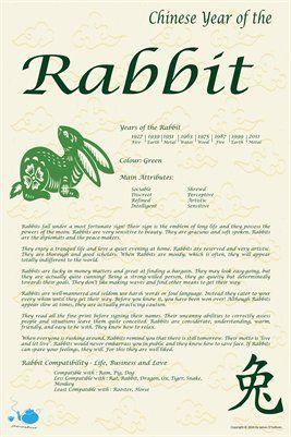 best 25 chinese zodiac rabbit ideas on pinterest chinese zodiac snake chinese zodiac and dog. Black Bedroom Furniture Sets. Home Design Ideas