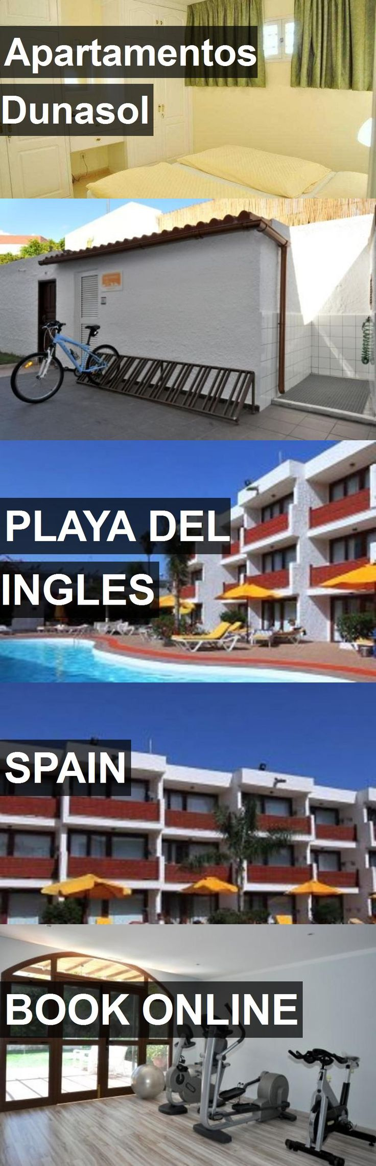 Hotel Apartamentos Dunasol in Playa del Ingles, Spain. For more information, photos, reviews and best prices please follow the link. #Spain #PlayadelIngles #hotel #travel #vacation