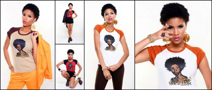 African American Fashion – Buy online from a Large selection of Natural Hair T shirts and Urban Clothing at kinky-tees.com.