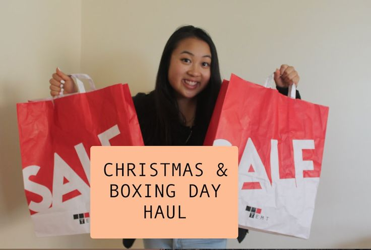 CHRISTMAS AND BOXING DAY HAUL