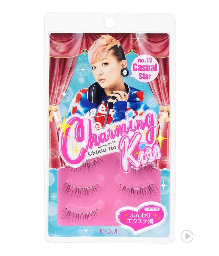 Charming Kiss Eyelash No.12 Casual Star 챠밍키스 아이래쉬 No.12 캐쥬얼 스타