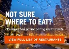 Chicago Restaurant week Feb 2 - 26, 2012 http://www.choosechicago.com/things-to-do/dining/chicago-restaurant-week/