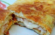 omelete recheada no microondas dukan