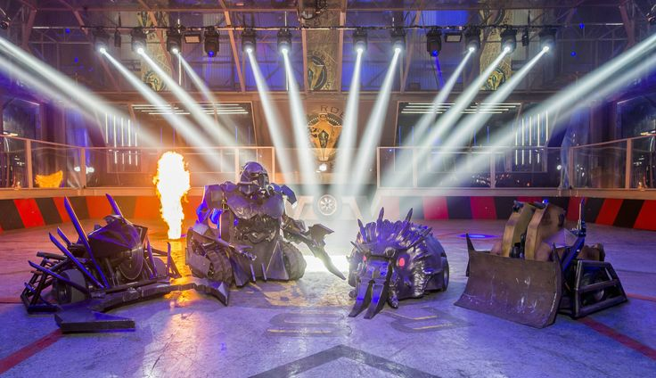 This is the first proper look at the upgraded Robot Wars 2016 House Robots