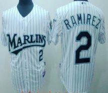 Mlb Florida Marlins 2 Hanley Ramirez Whitestripe Discount Miami Marlins 2  Hanley Ramirez White Stripe Jersey · Miami MarlinsMlb ... 84a411f89