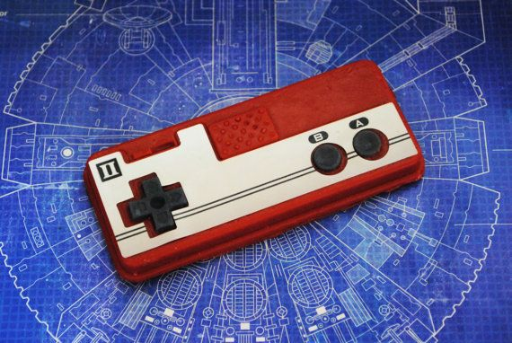 NES Controller II Parody Soap  retro gamer and geeky by NerdySoap