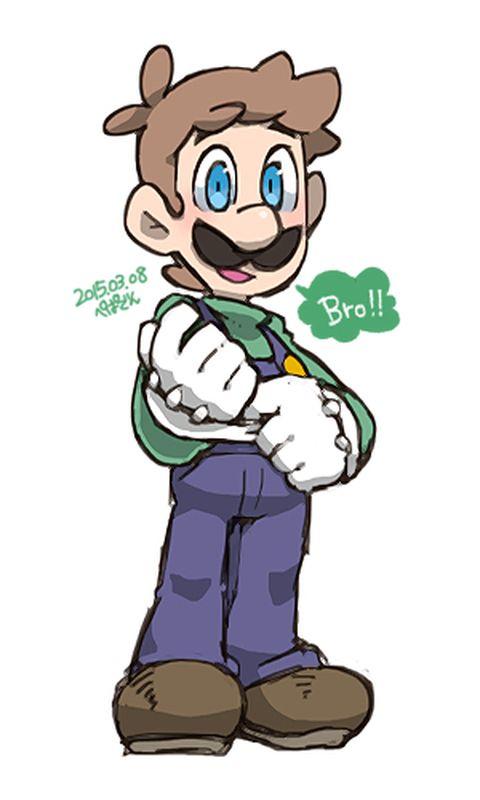 Luigi「つめつめ」/「ぺぱでん」の漫画 [pixiv]