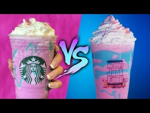 How to Make Your Own Unicorn Frappuccino at Home! | Erick and The Kane Show Interns | HOT 99.5