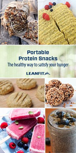 Whether you're travelling, packing the kids lunches, short on time or just want something to chew on, we've got your solution! We've compiled a variety of ways to make healthy, protein-rich snacks that will help satisfy hunger and fuel your day. You can also experiment adding LeanFit protein powders to your own recipes for a protein boost. Have fun making your own unique snack version.. The possibilities are endless!