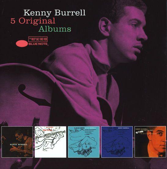 Kenny Burrell: 5 Original Albums (Introducing/Kenny Burrell/Blue Lights Vols 1 & 2/Five Spot Cafe) (5CD set)