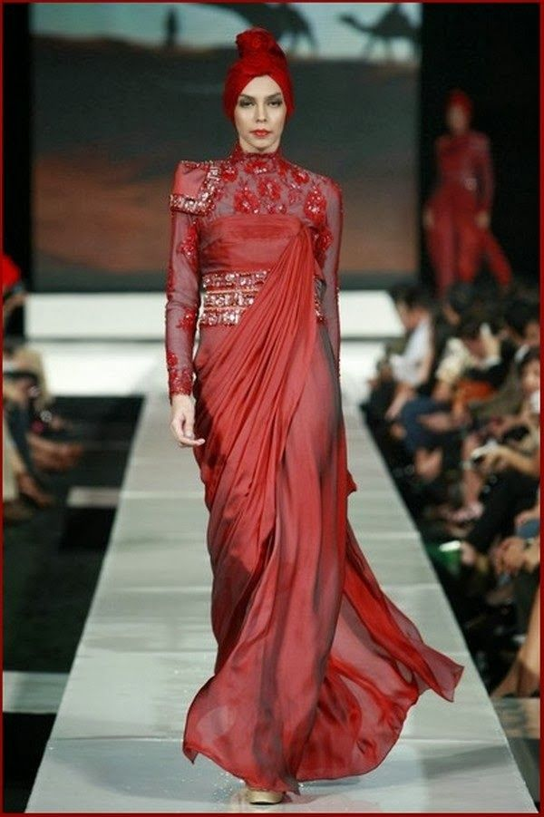 Evening Hijab Dresses 2014 Gowns for Hijab Fashion 2014