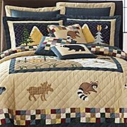 Moose quilt theme