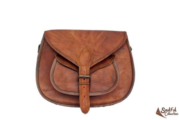 distressed leather handbags