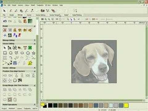 ArtCAM - Modelling a Dogs Head from an Image- ArtCAM Pro