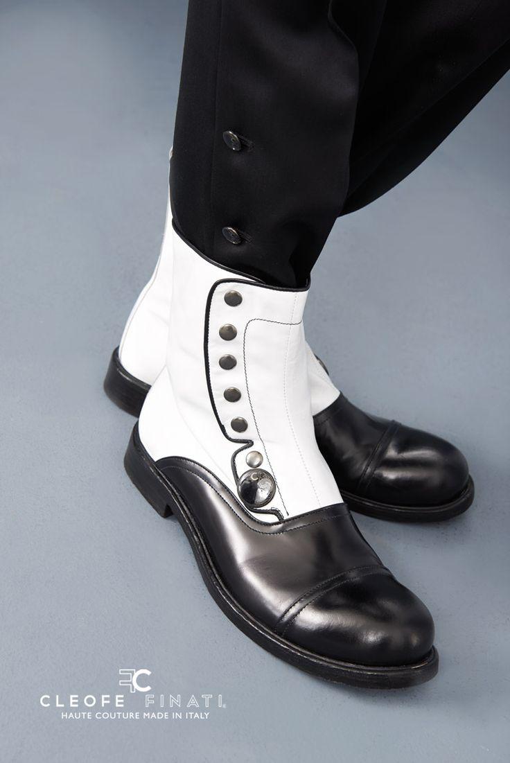#Men #Shoes #Boots #Trendy #Black & #White #MensWear #